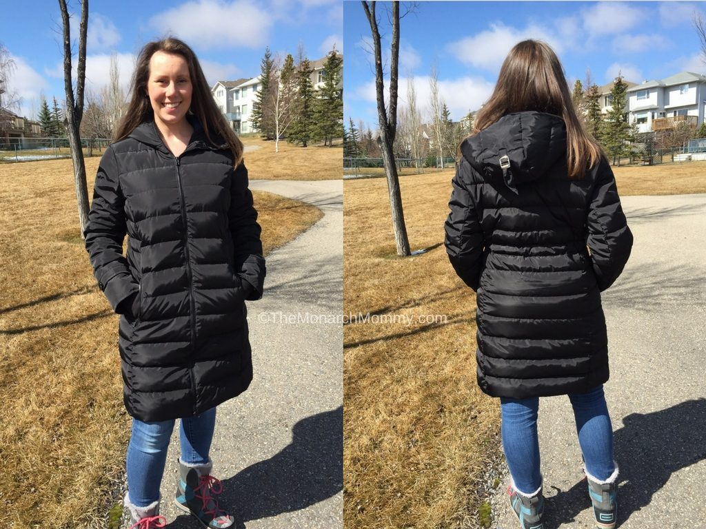 Goose Down Babywearing Winter Coat Review: Winter Babies Are Coming!
