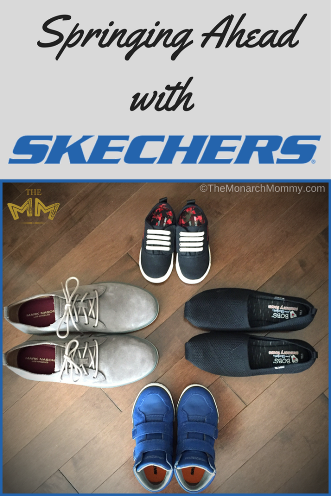 Springing Ahead with Skechers