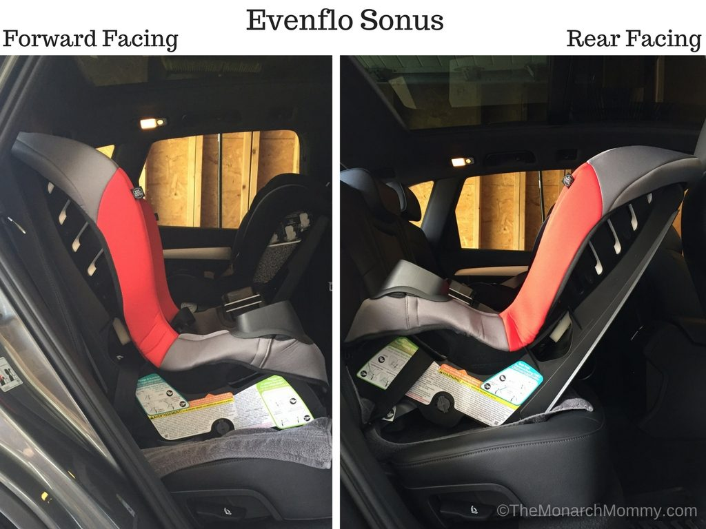 Meet The Evenflo Sonus Convertible Car Seat