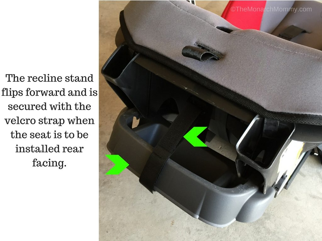 evenflo car seat strap instructions