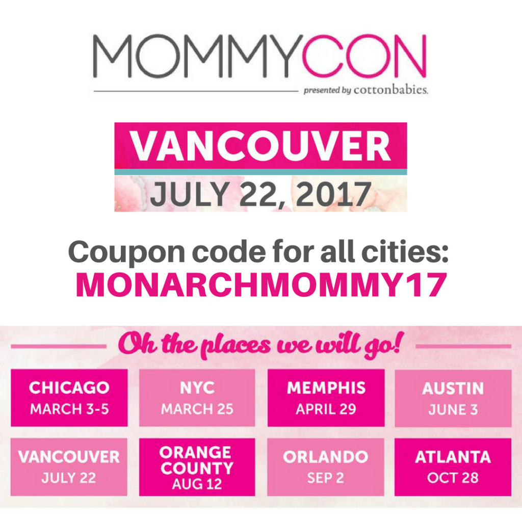 Win Two Tickets to MommyCon Vancouver & One Applecheeks 150