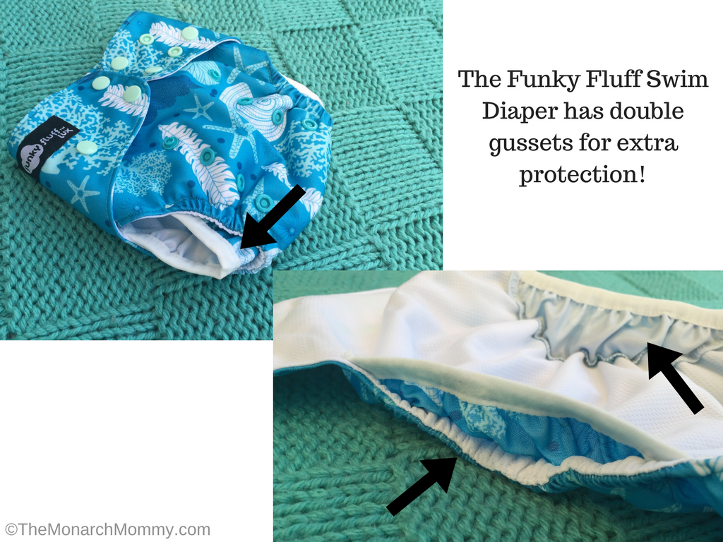 Funky Fluff Swim Diaper Review