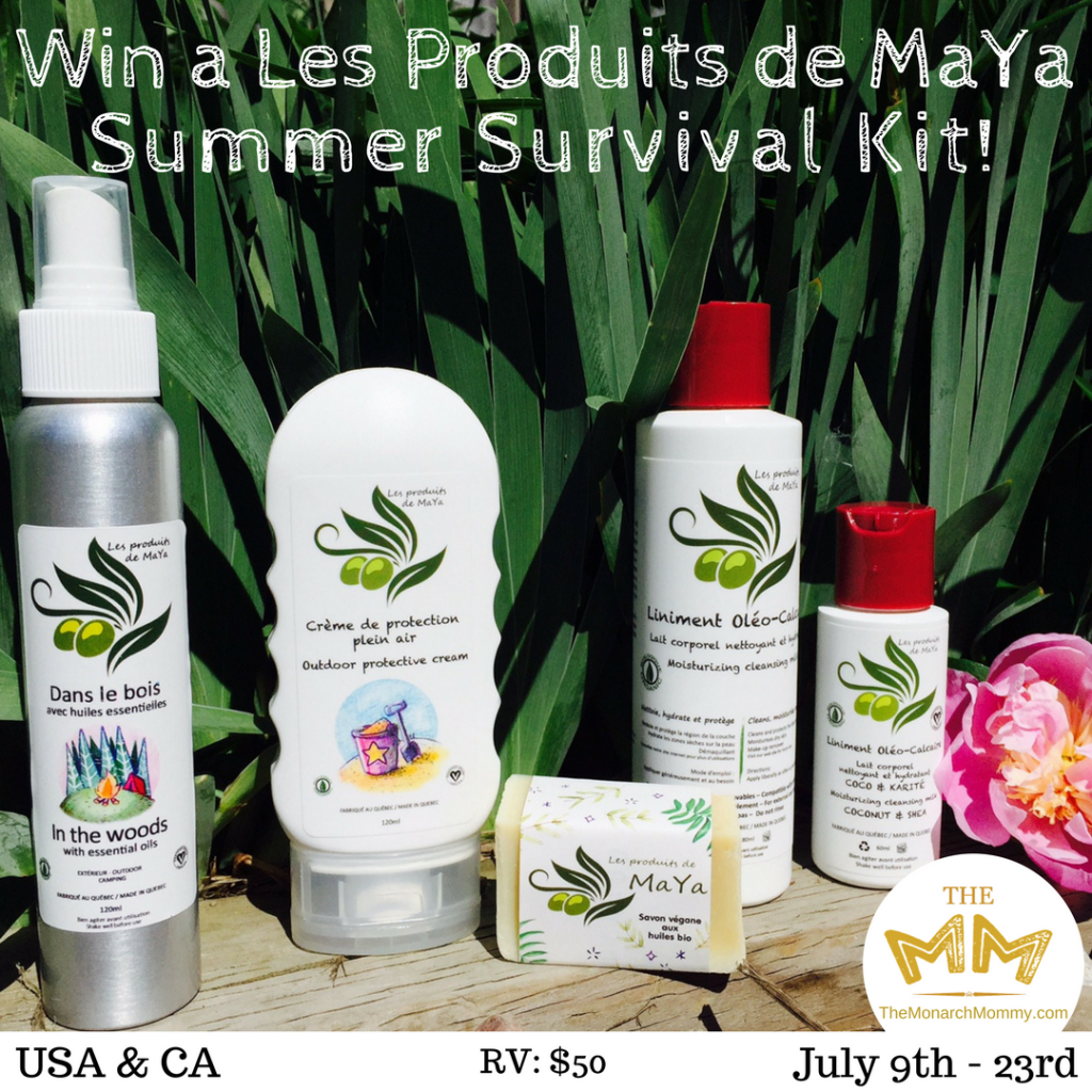 Les Produits de MaYa In The Woods Summer Survival Giveaway