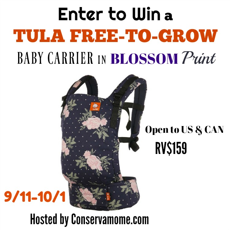 Tula Free to Grow Blossom Giveaway