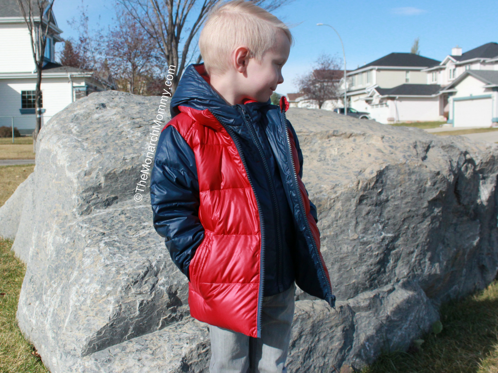 Safe & Warm with the One Kid Road Coat