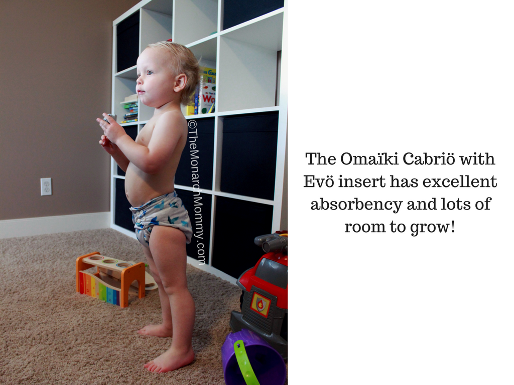 Omaïki Cabriö All in Two Cloth Diaper Review