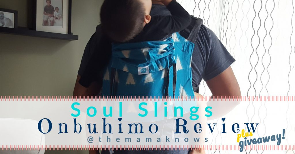 Soul Slings Onbuhimo Giveaway