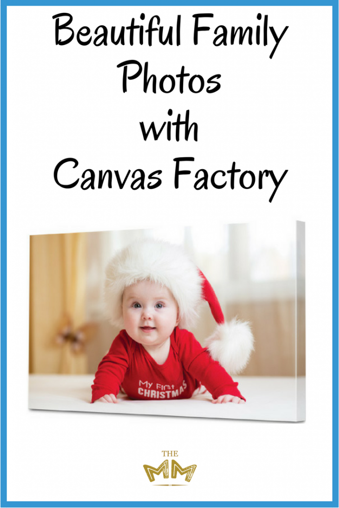 Beautiful Family Photos with Canvas Factory