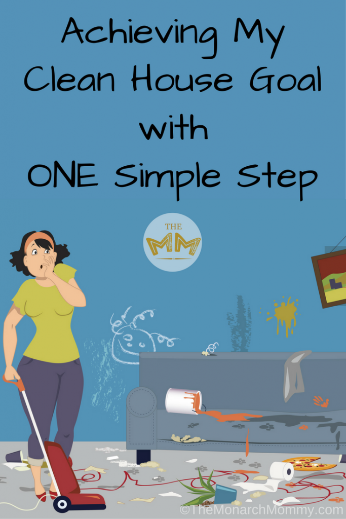 Achieving My Clean House Goal with ONE Simple Step #DysonClean
