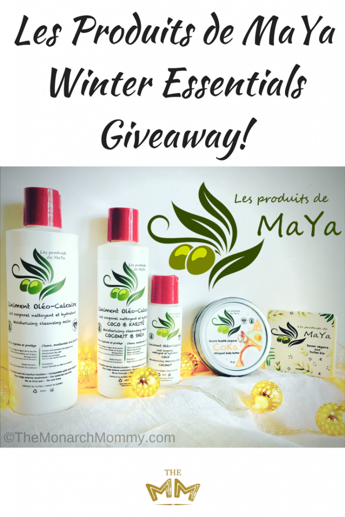Les Produits de MaYa Winter Essentials Giveaway!