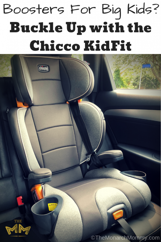Boosters For Big Kids? Buckle Up with the Chicco KidFit
