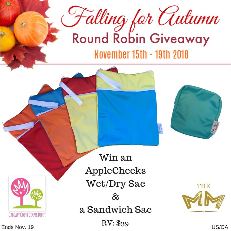 Win an AppleCheeks Wet/Dry Sac and Sandwich Sac