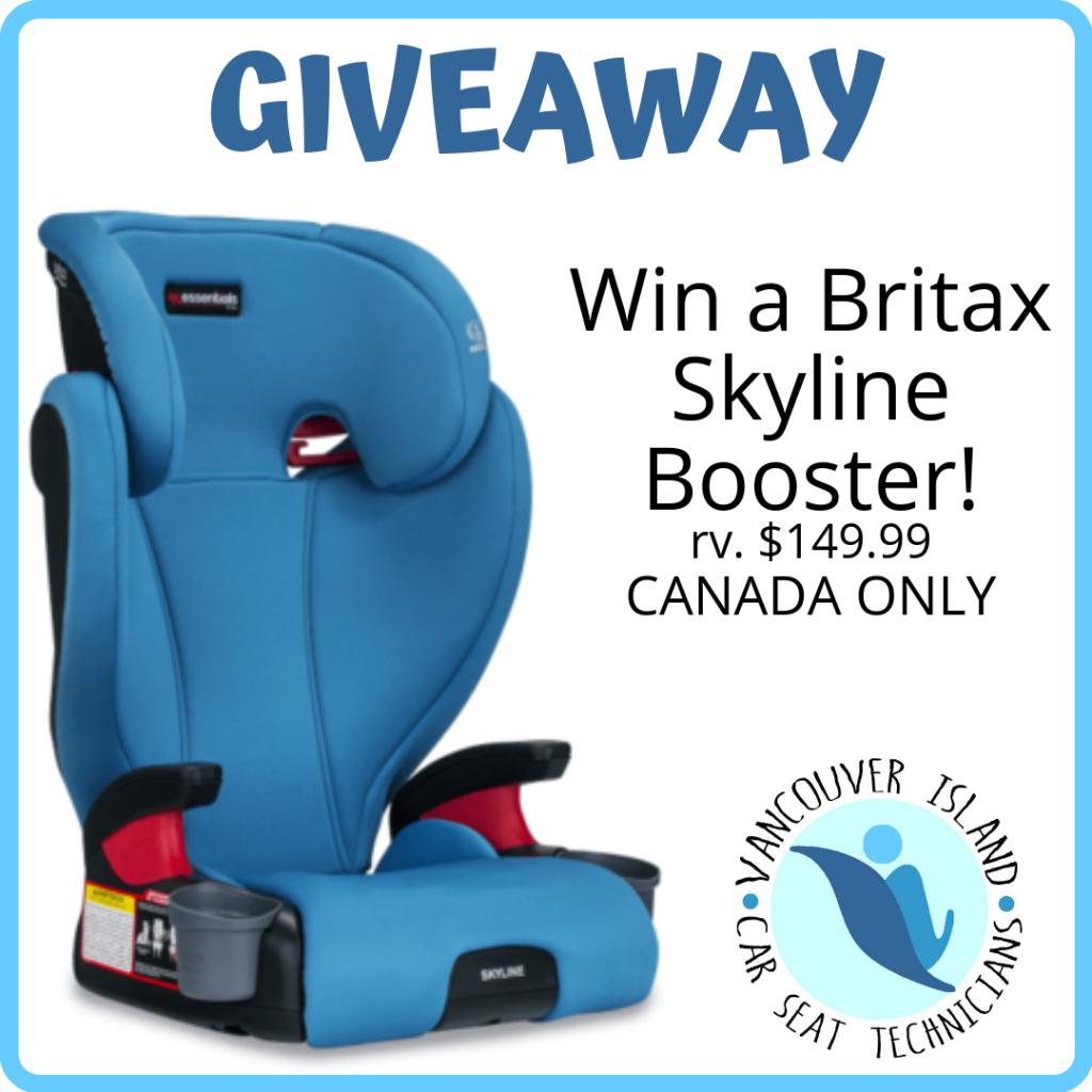 Win a Britax Skyline Booster